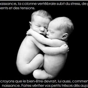 bébé et chiro