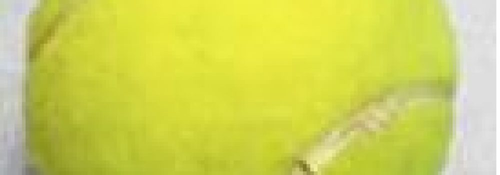 Automassage avec une balle de Tennis