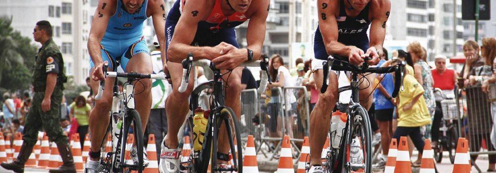 Un cycliste bien positionné